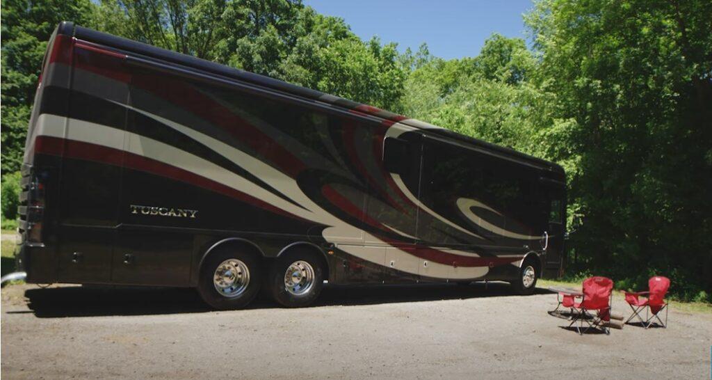 tuscany luxury motor coach