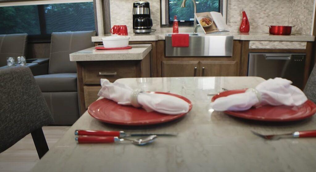 tuscany kitchenette